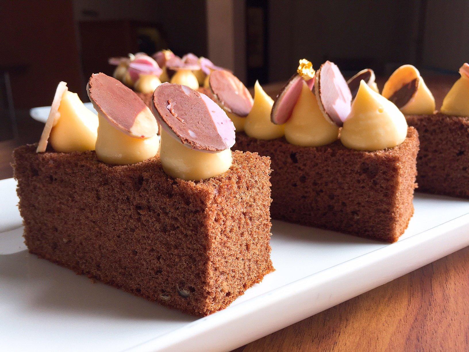 kue bolu coklat panggan