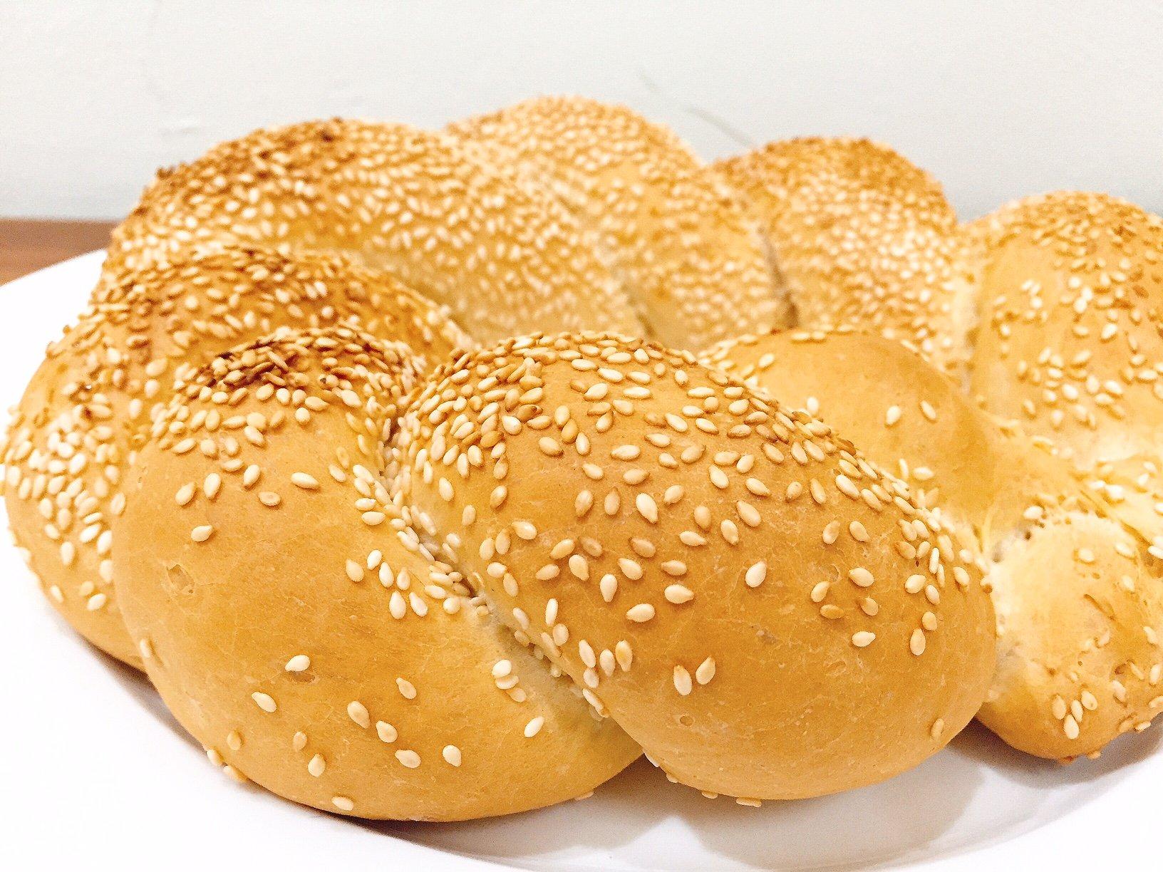 Roti Turki Simit Mudah dan Lezat