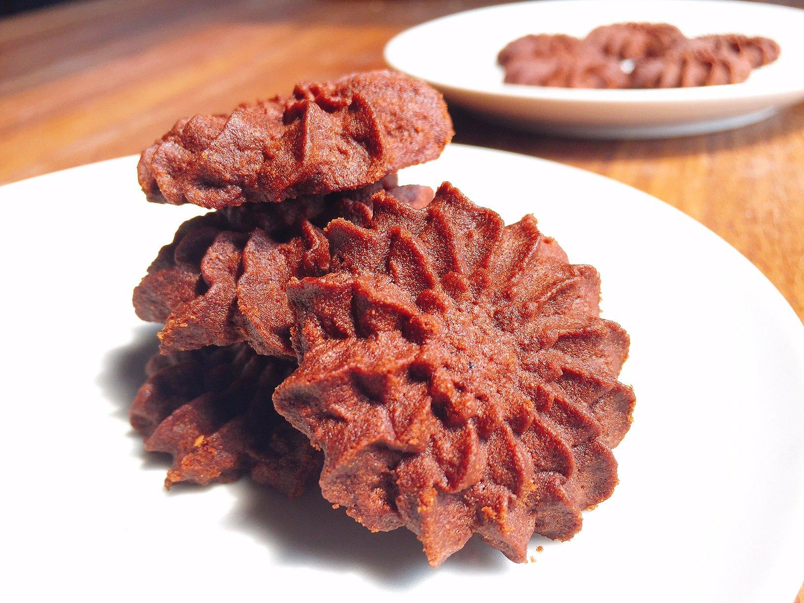 resep kue kering semprit coklat untuk kue kering lebaran