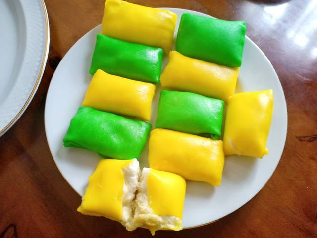 Resep Pancake Durian With Wipped Cream