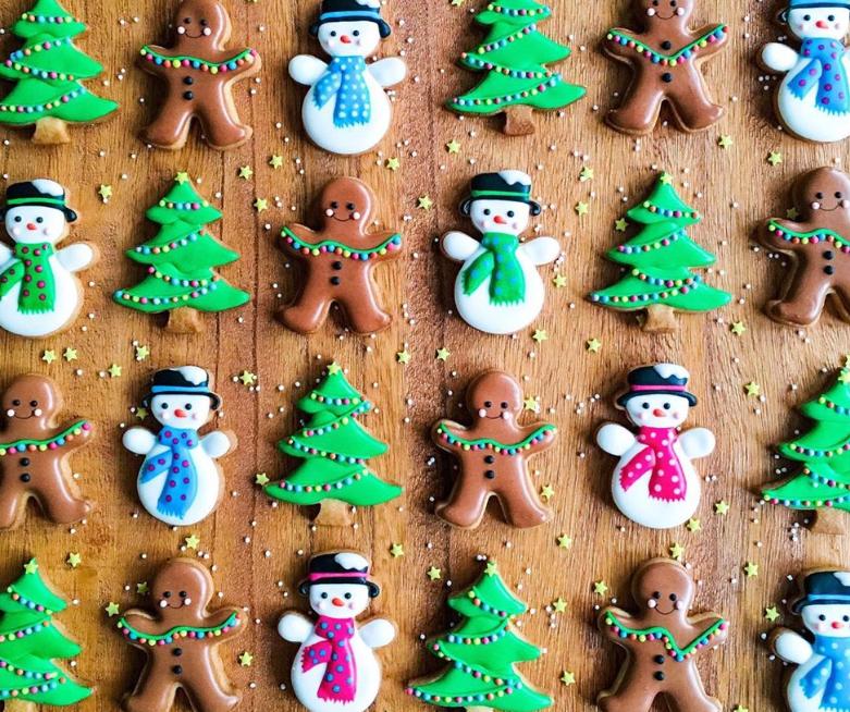 Cara Membuat Resep Royal Icing Cookies Natal