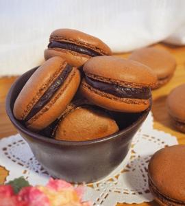 Cara Membuat Macarons Coklat