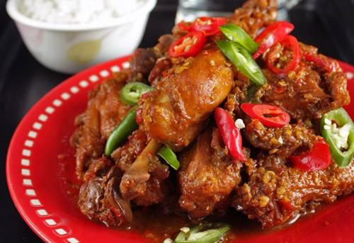 Resep Ayam Kecap Pedas yang Sederhana