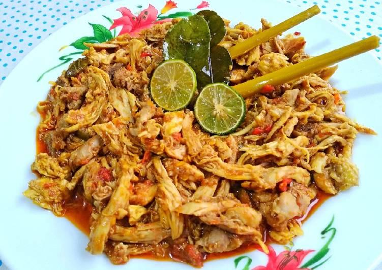 Resep Ayam Suwir Bumbu Khas Bali