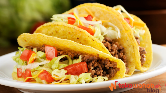Resep Taco dan Cara Membuat Kulit Tortilla Pada Taco