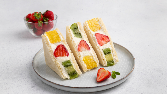 Resep Japanese Fruit Sandwich, Hanya dengan 4 Bahan!