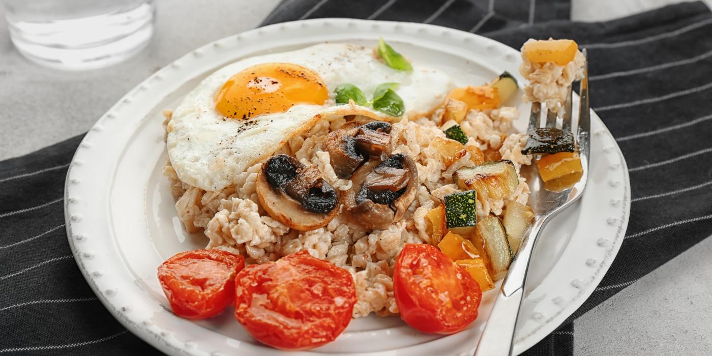 resep nasi goreng oatmeal